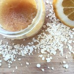 DIY Honey Oat & Sugar Exfoliating Scrub